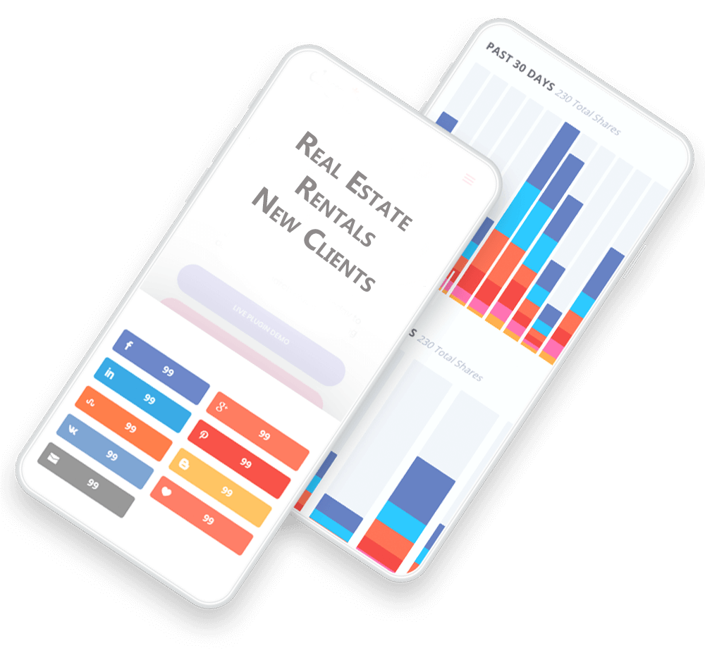 phones with marketing data for real estate agents